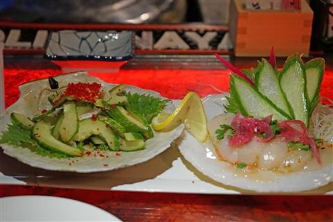 live scallop sushi chinatown westlake