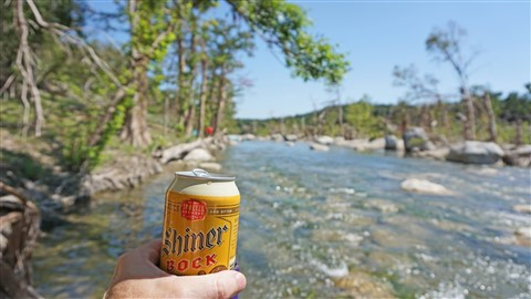 bring cans to the river, not beer bottles