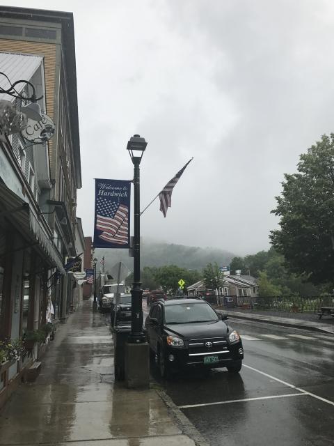 rainy summer hardwick vermont 2017