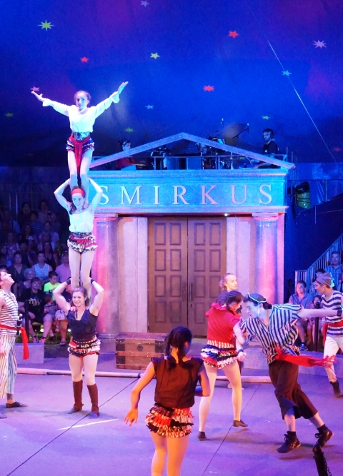night at the museum circus smirkus