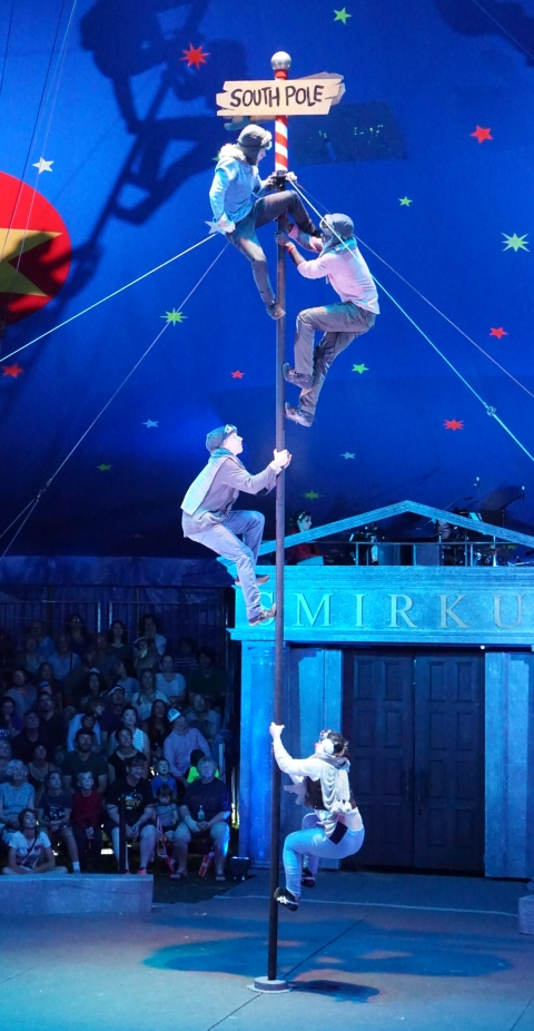 south pole circus smirkus museum 2017 greensboro vermont