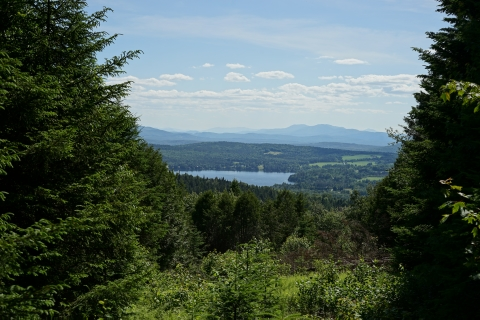 barr hill caspian lake vermont view summer 2017