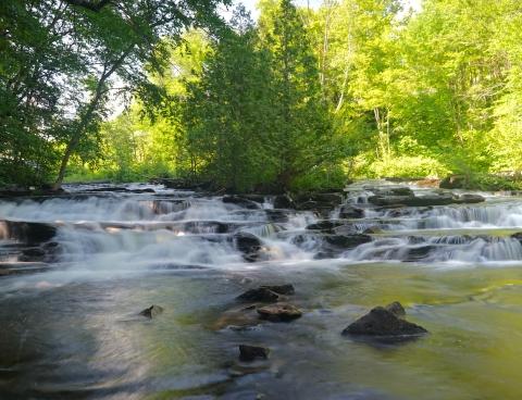 waterfall joes brook w. danville vt