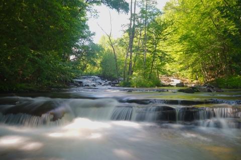 west danville vermont joe's brook waterfall vt NEK