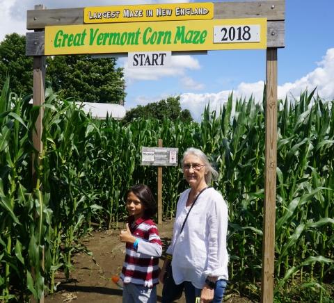 great vermont corn maze 2018