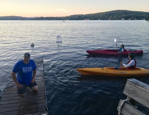 joe's pond vermont kayak