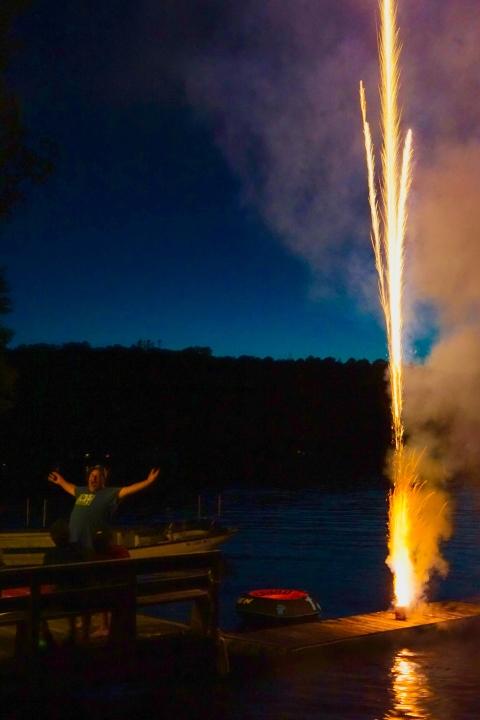 fourth of july joe's pond vt 4th fireworks vermont