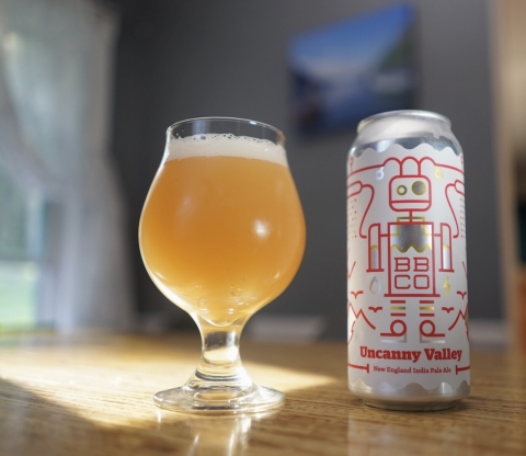 bbco neipa uncanny valley craft beer ipa vermont