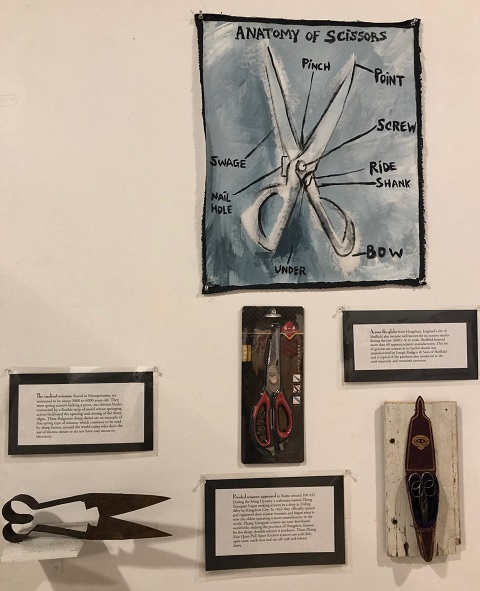 scissors at the museum f everyday life glover vermont nek vt