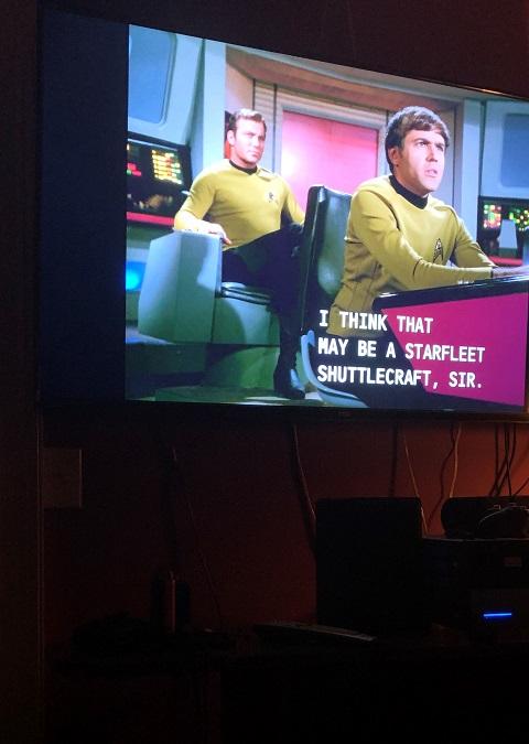 captain kirk uss enterprise