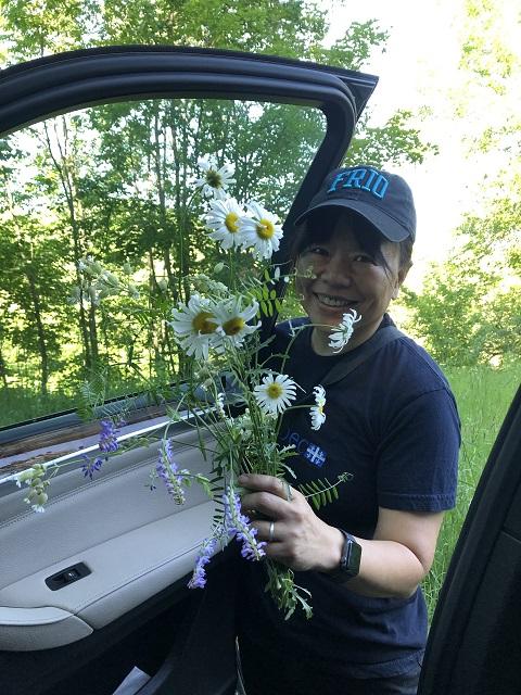 wildflower bouquet danville vermont