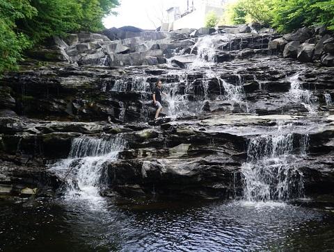 joe's brook falls joes pond danville vt