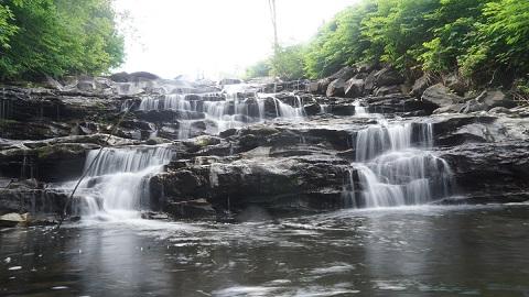 joe's pond joes brook vermont waterfall