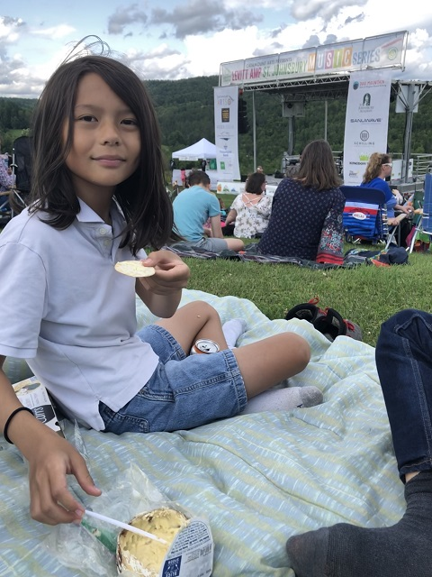 harbison cheese jasper hill catamount arts summer music at dog mountain