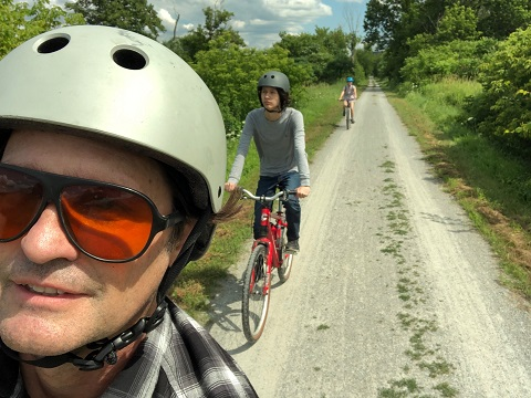 lvrt hyde park vermont cambridge rail trail bike