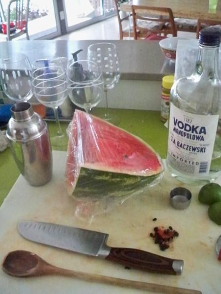 watermelon shaker - the amh summer cocktail