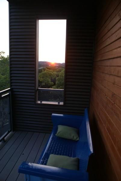 west lake hills sunset