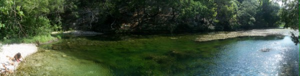 lost maples pond panoramic