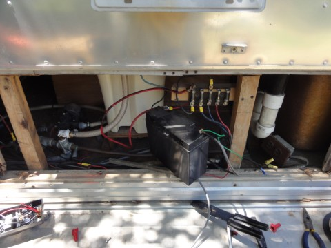 airstream electrical guts