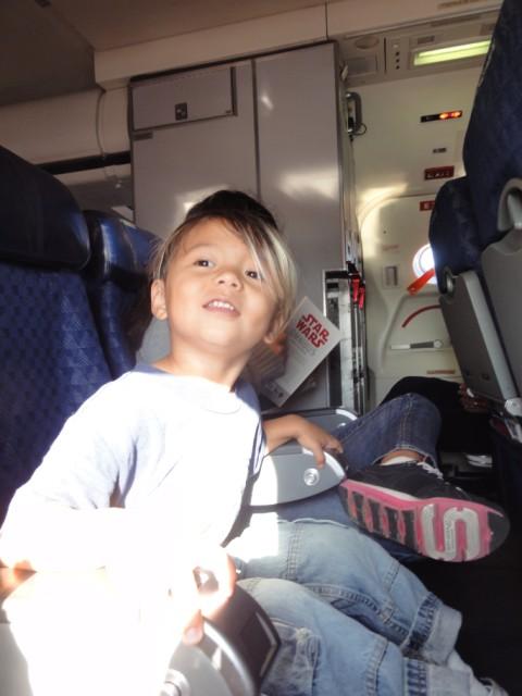 first flight child