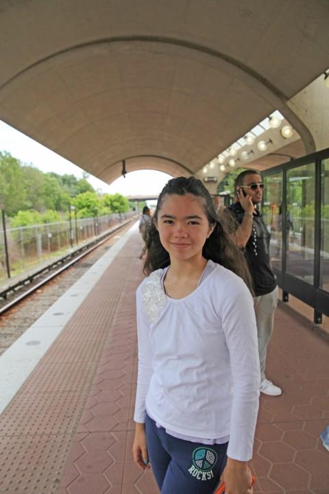 shady grove metro platform