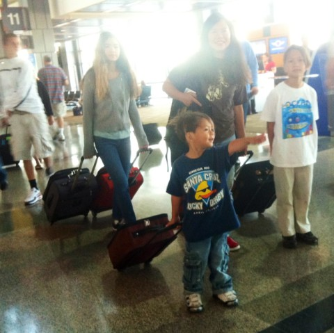 austin airport family