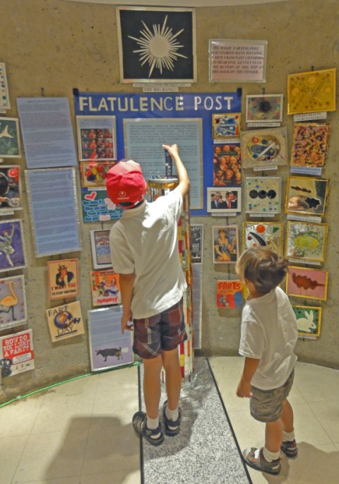 flatulence fart post american visionary arts museum baltimore