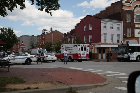 fell's point Baltimore POLICE EMS baltimore md