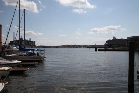 inner harbor from fell's pt baltimore
