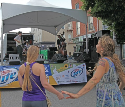 federal hill baltimore street festival jazz and blues