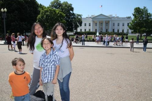 washington dc white house 1600 pennsylvania avenue