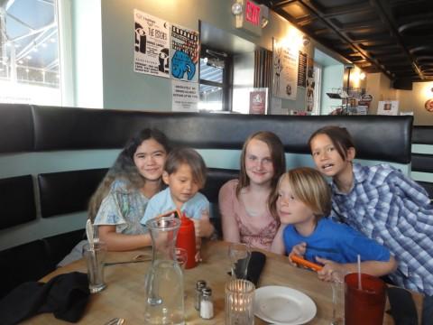 kids went wild at rocket to venus baltimore hampden
