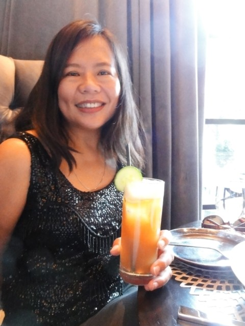 pimm's cup at trace austin W hotel