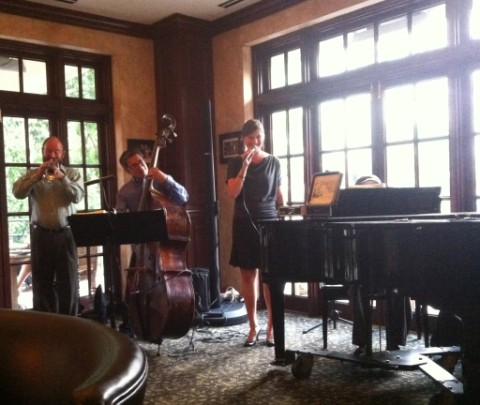 live jazz band at stephen f austin yelp elite party
