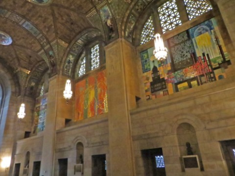 nebraska capitol building interior mosaics
