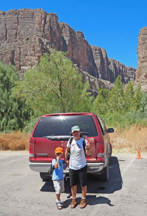 ford off road maverick santa elena canyon big bend