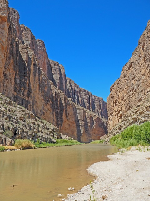 santa elena canyon big bend national park texas