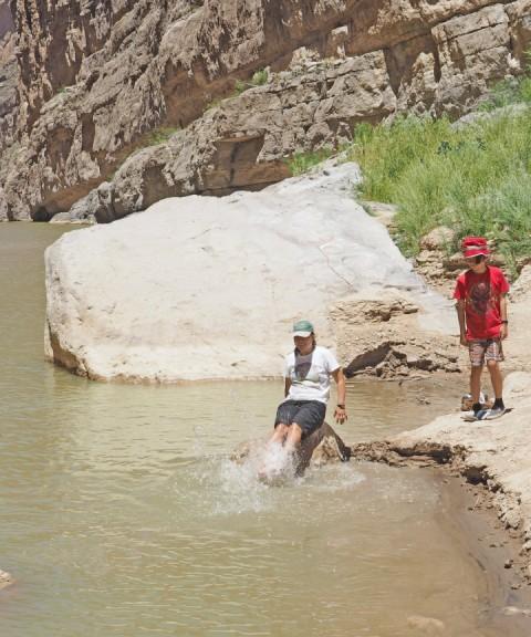 big bend santa elena river splash