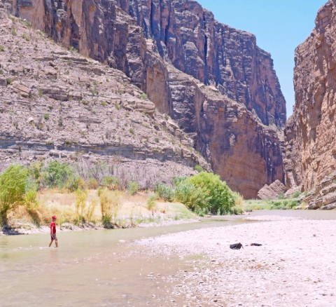 santa elena canyon river big bend national park