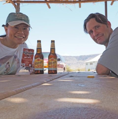 big bend shiner beer at castolon
