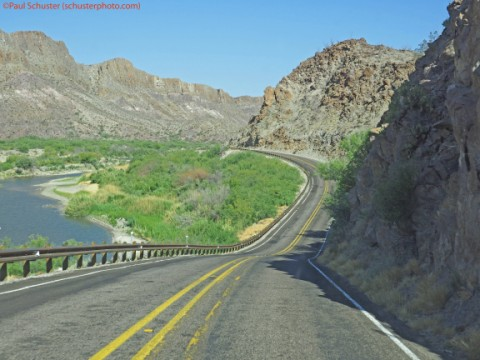 river road big bend state park texas