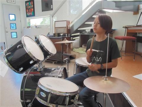 austin middle school drummer boy
