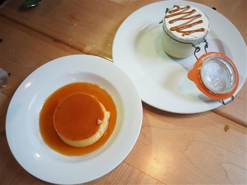 flan and tres leches el naranjo austin