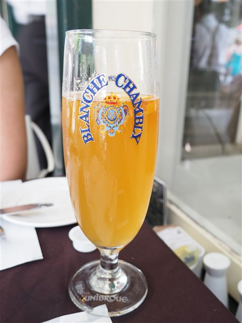 blanche de chambly unibroue quebec