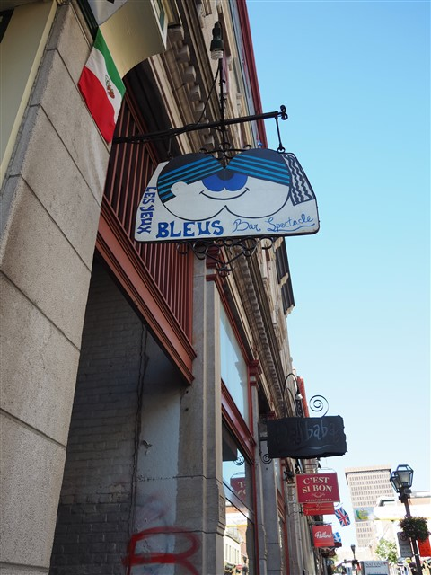 blues bar on ru st jean quebec