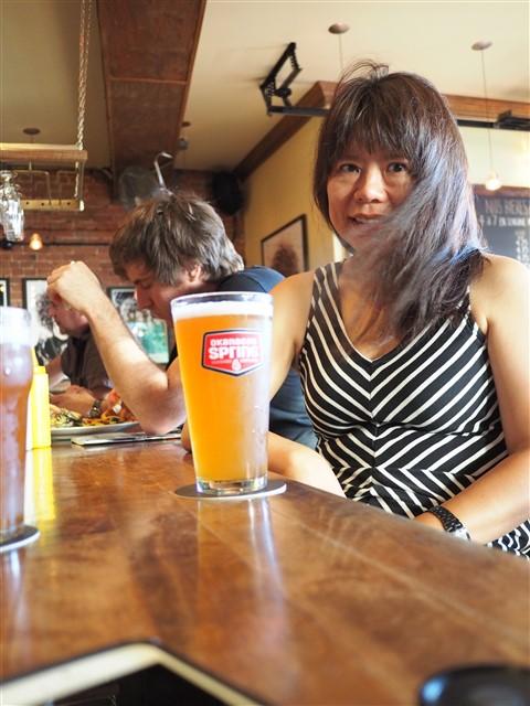 summer weizen at Nyk's pub montreal