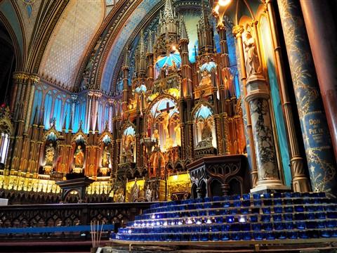basilica notre dame montreal
