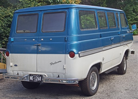 ford econoline falcon deluxe club wagon