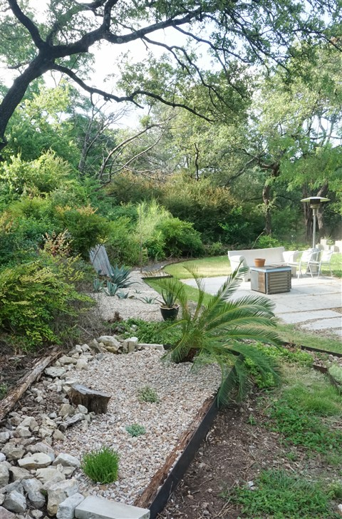 west lake hills modern landscaping austin 78746