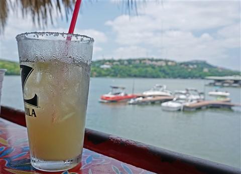 hula hut mexican martini in a pint glass?